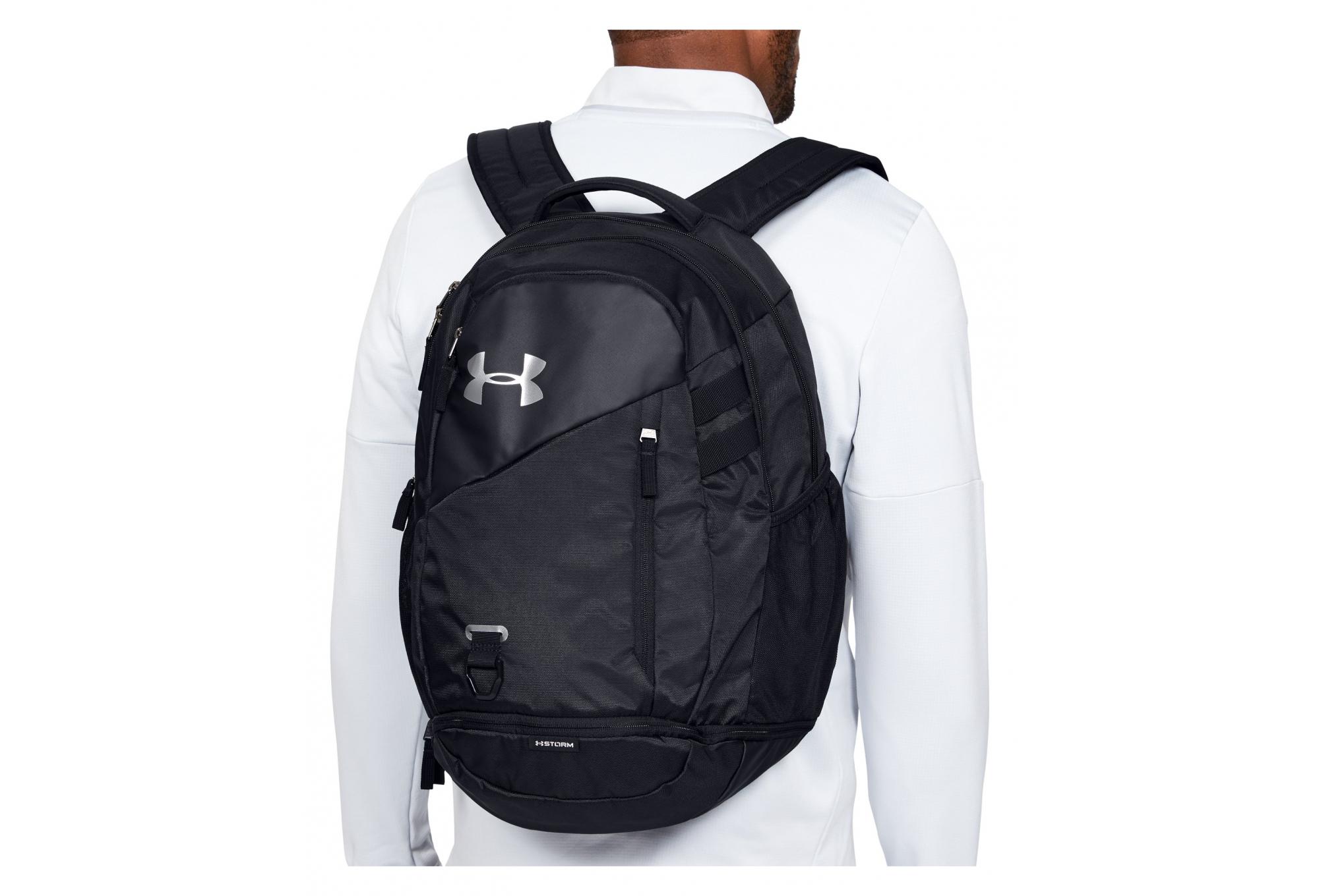 Isaac Distribución Tumba  Under Armour Hustle 4.0 Backpack Black | Alltricks.com