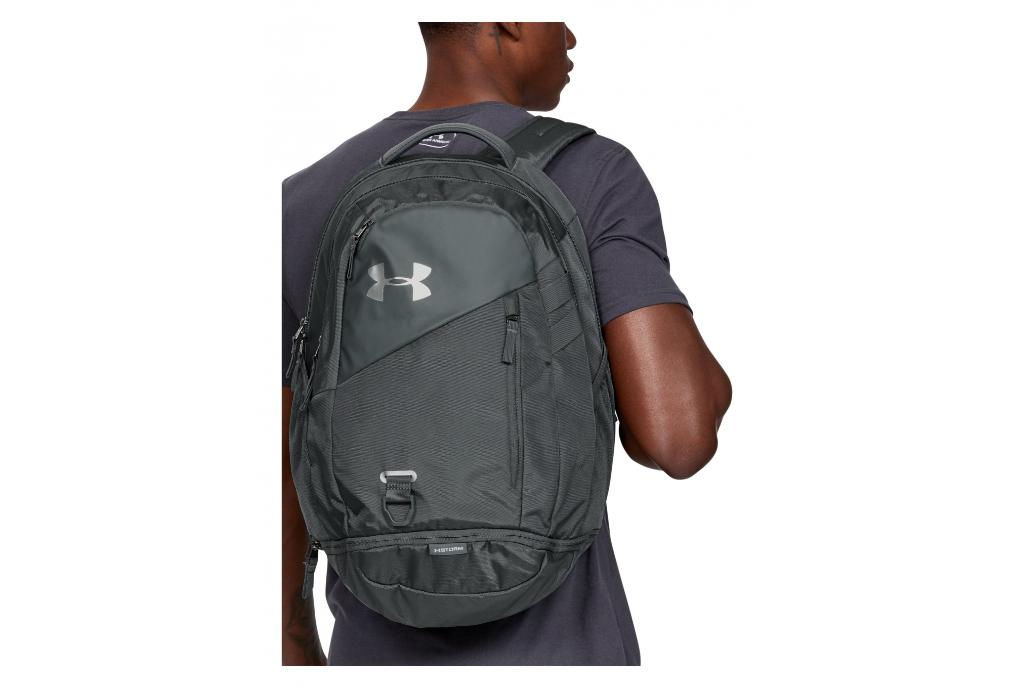 hidrógeno agudo Bolsa  Under Armour Hustle 4.0 Backpack Grey | Alltricks.com