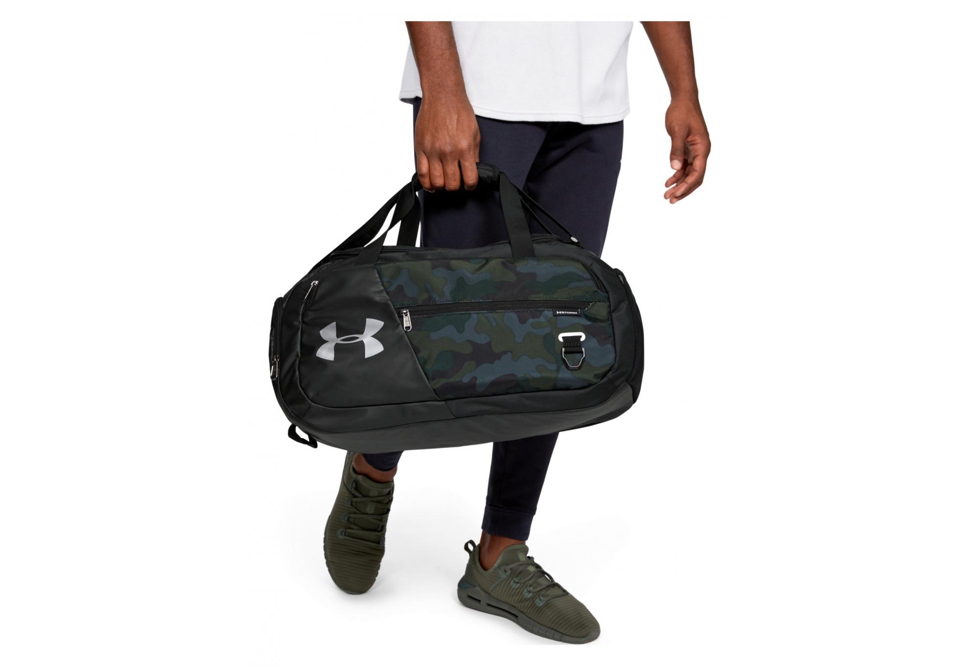 Small Duffle Bag Black Camo