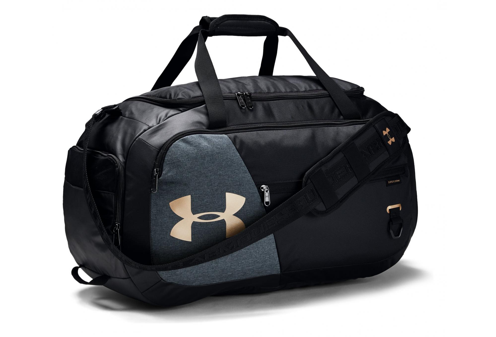 Medium Duffle Bag Black Gold