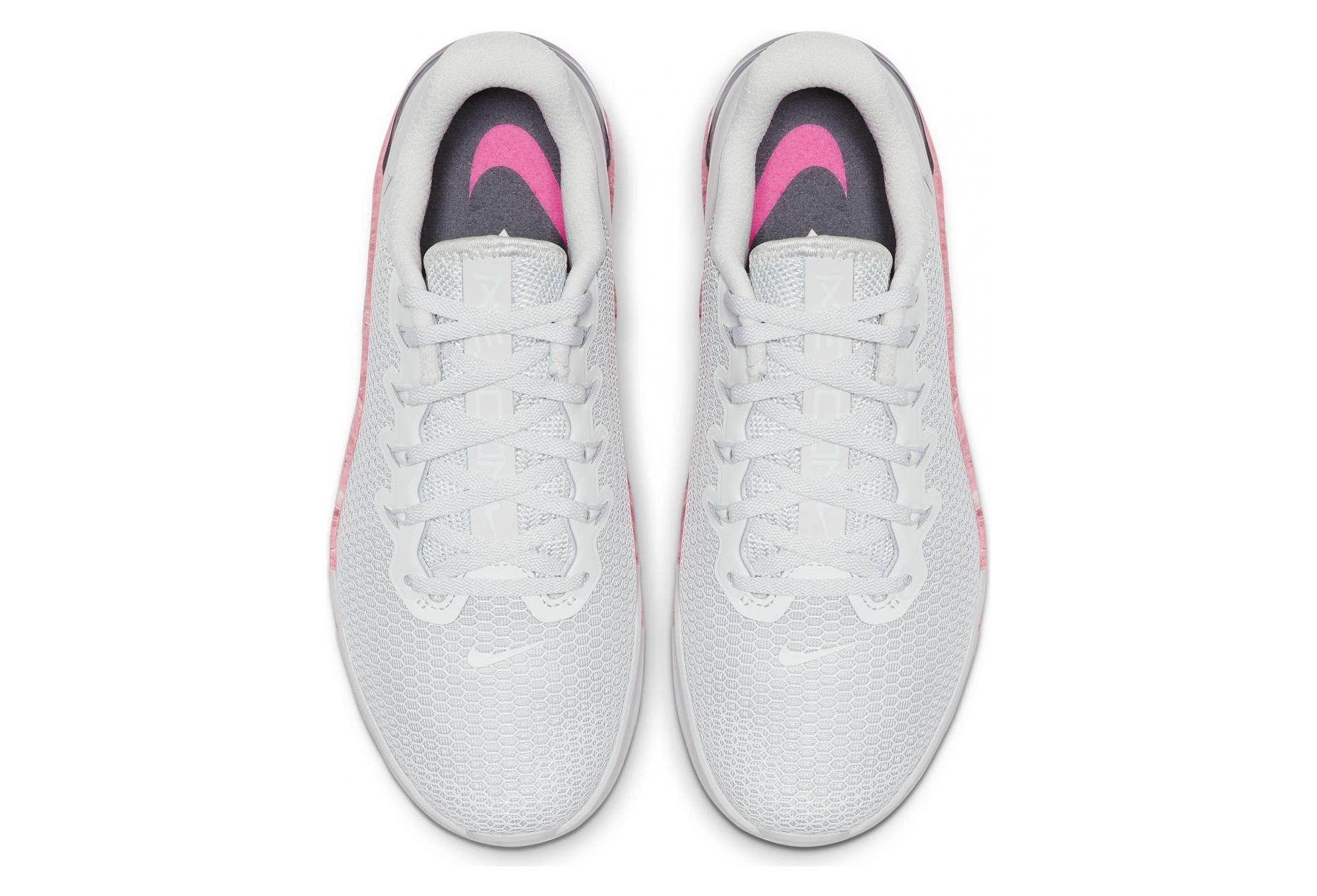 Metcon 5 Nike Femme Gris Rose j354ARLq