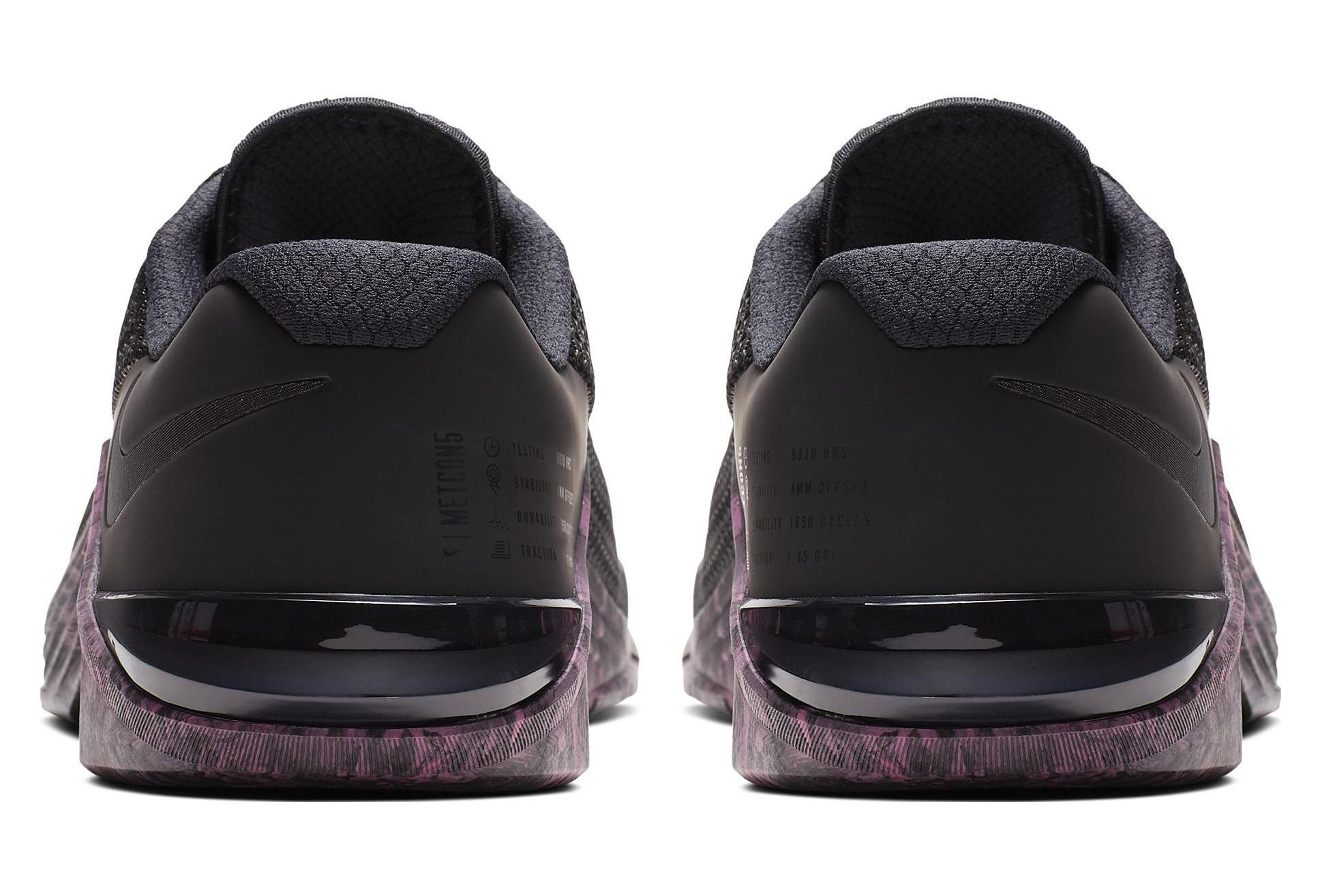 factory authentic excellent quality new arrival Chaussures de Cross Training Nike Metcon 5 Noir / Violet ...
