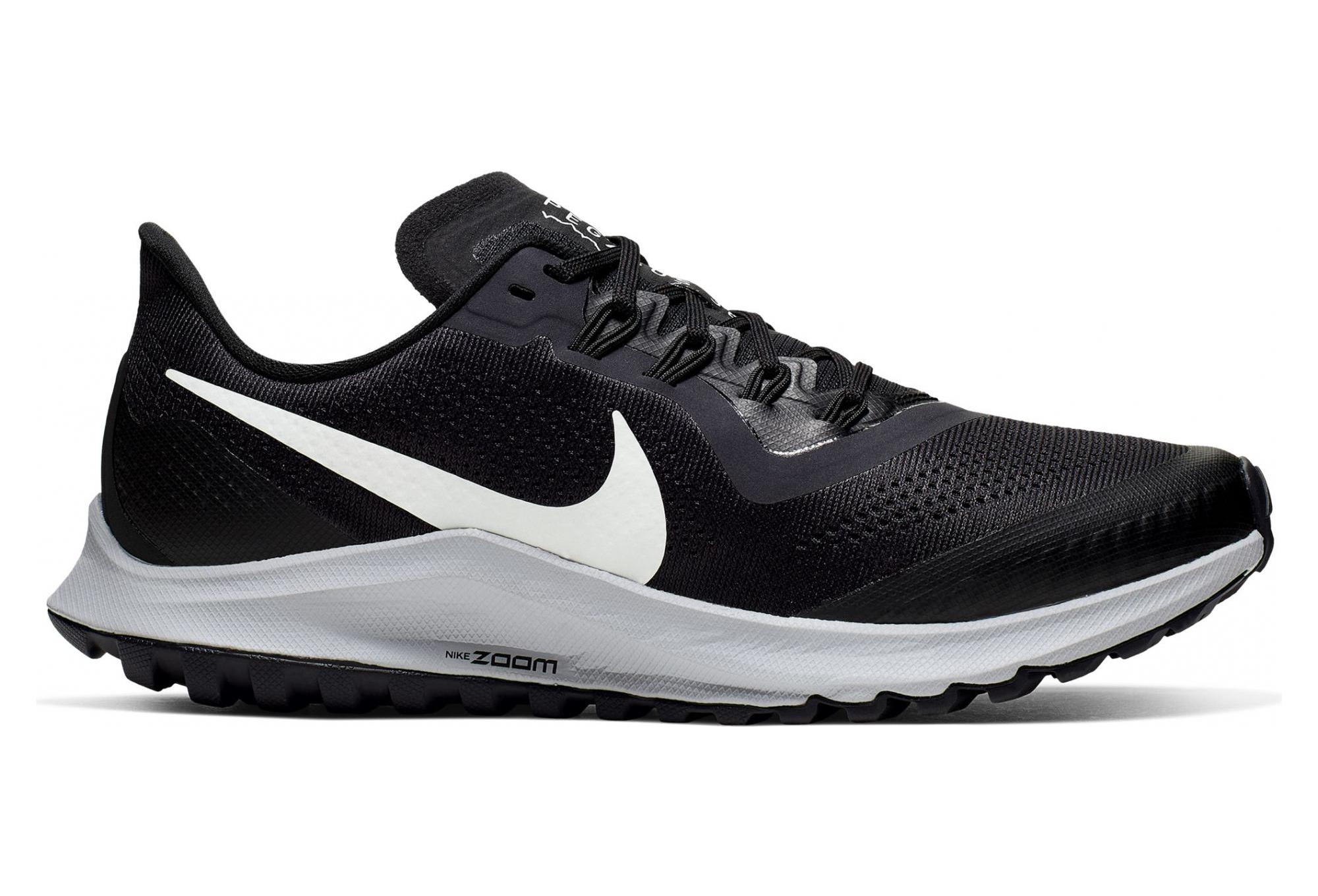 Nike Air Zoom Pegasus 36 Trail Black White Women