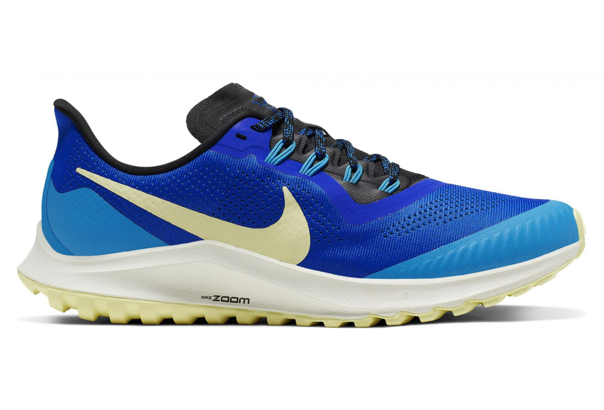 Nike Air Zoom Pegasus 36 Trail Blue Yellow Men