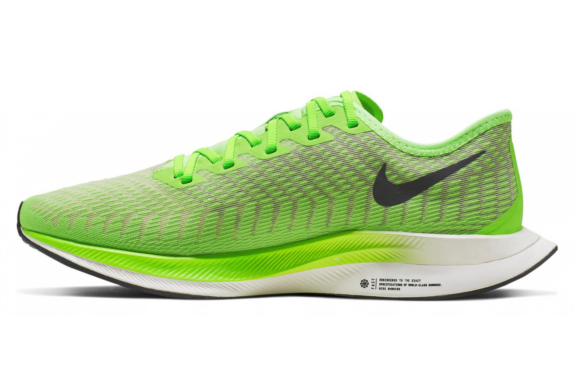Chaussures de Running Nike Zoom Pegasus Turbo 2 Vert / Fluo ...