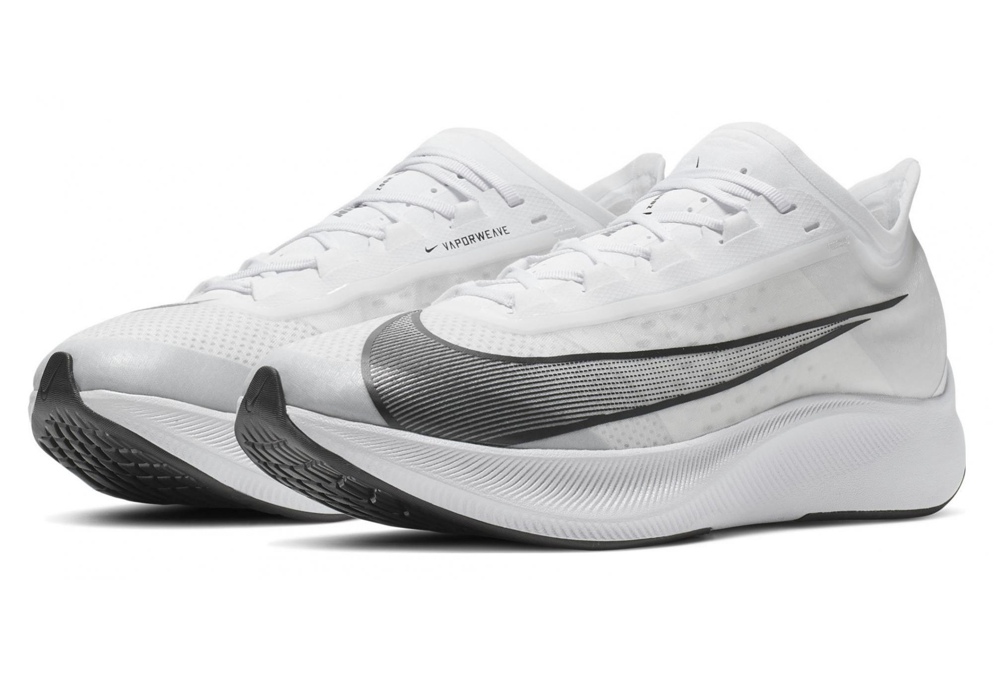 Chaussures de Running Nike Zoom Fly 3 Blanc | Alltricks.fr