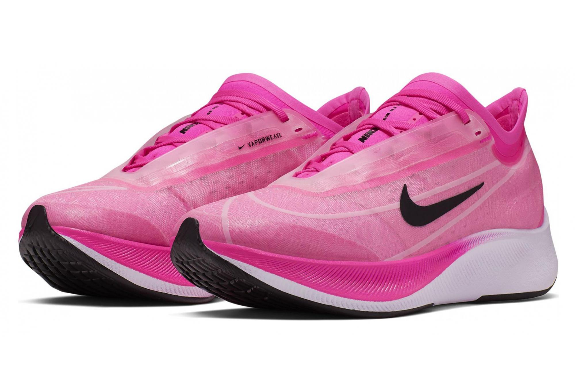 Nike Zoom Fly 3 Pink Black Women