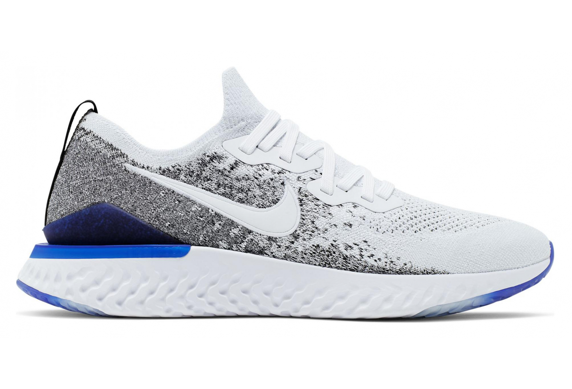 new products 5b7a7 e82e9 Nike Epic React Flyknit 2 White Grey Men