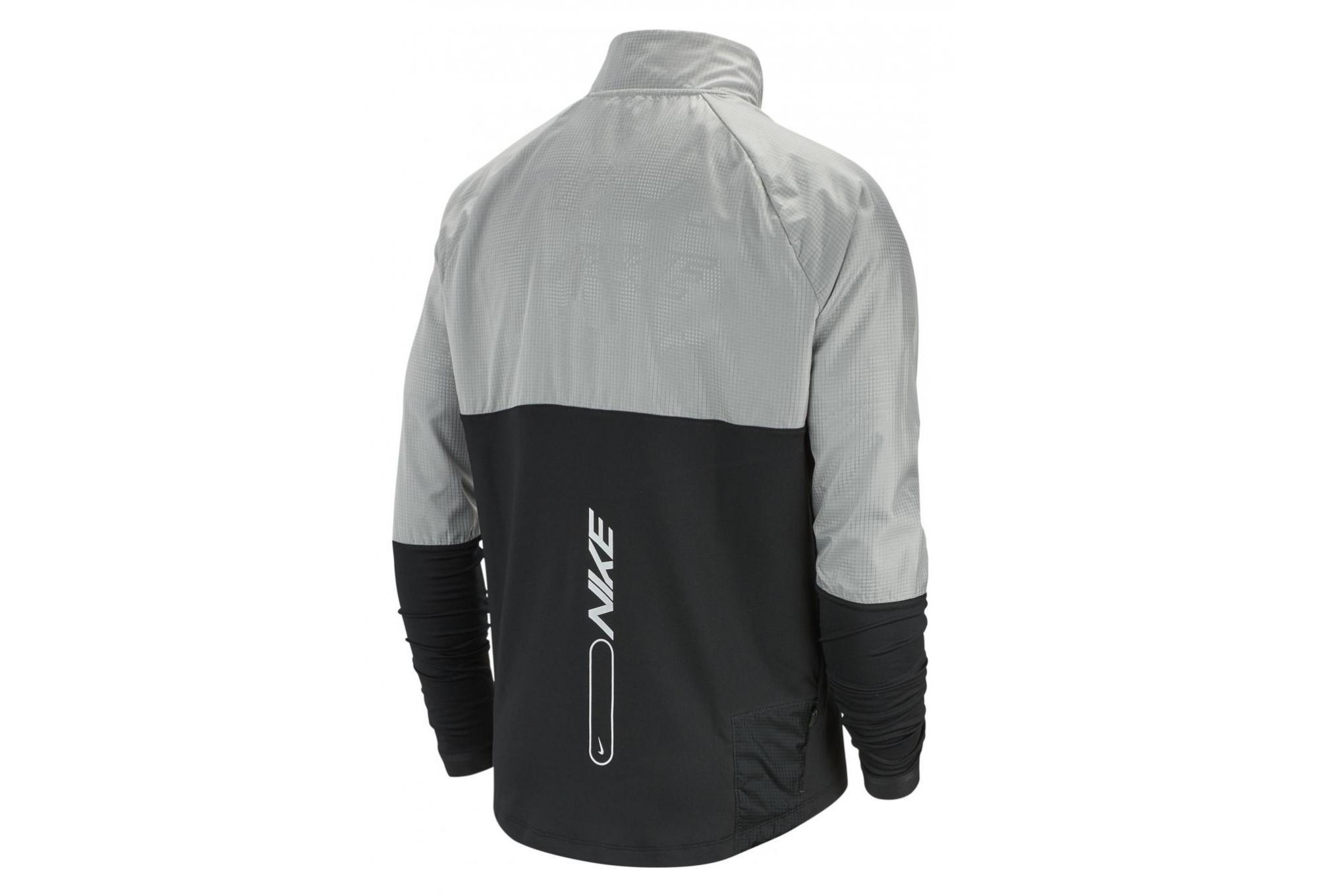 uk store 50% price on sale Veste Coupe-vent Nike Element 3.0 Noir Blanc Homme