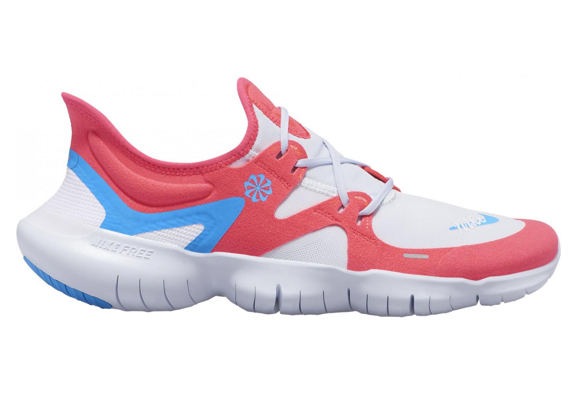 Nike Free RN 5.0 White Red Blue Men