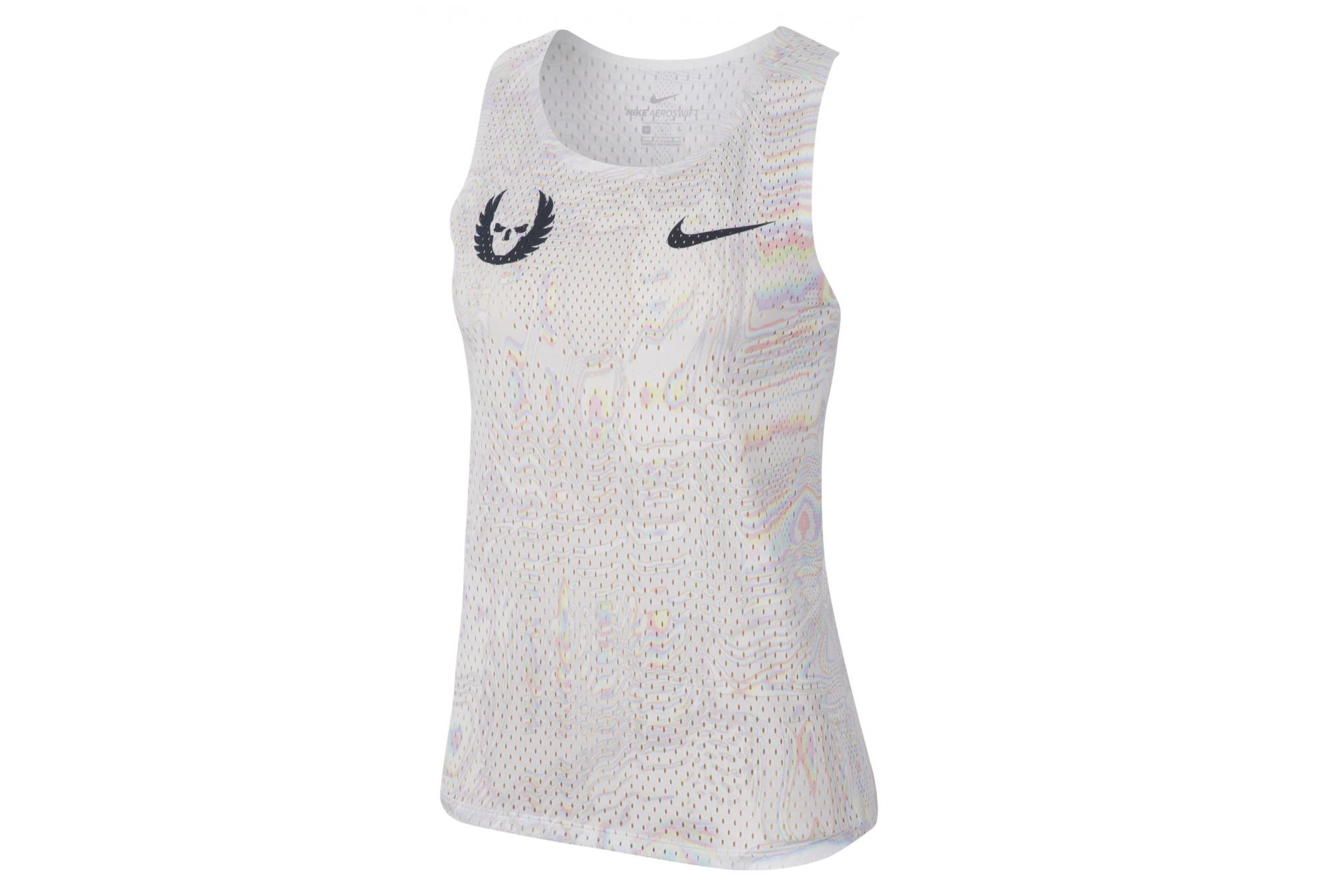 Débardeur Nike Aeroswift Oregon Project Blanc Homme