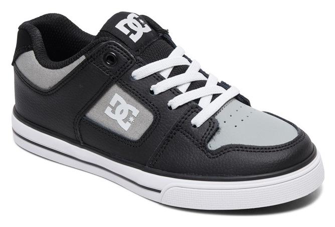 DC Shoes Pure Elastic Kids Shoes Black