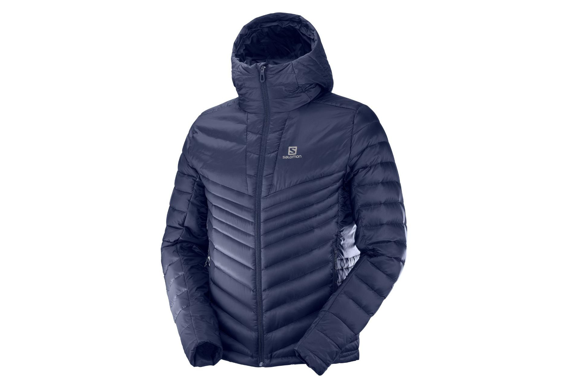 Salomon Daunenjacke Haloes Down Blue Men