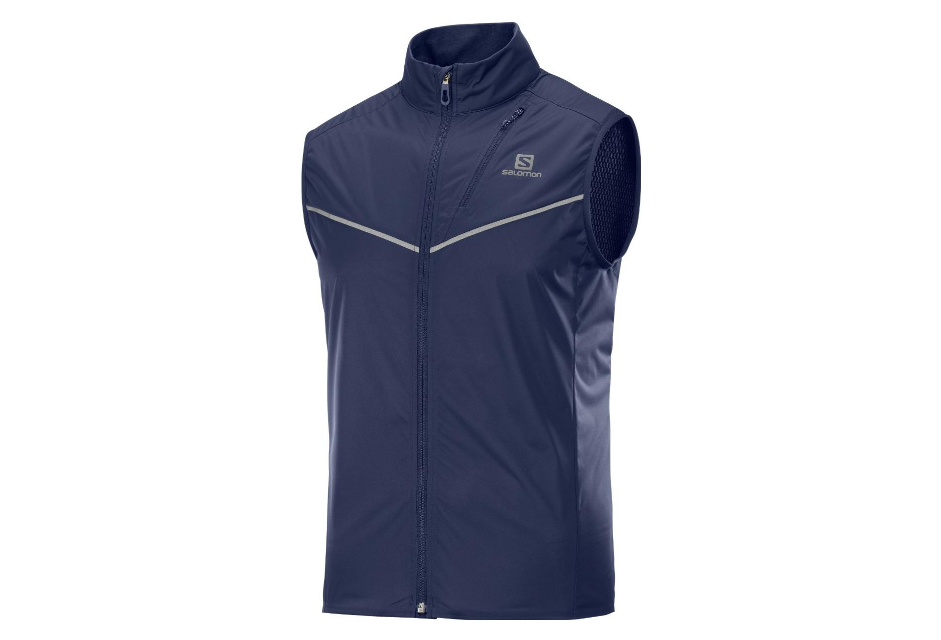 Veste sans manche Salomon Softshell Rs Light Bleu Homme