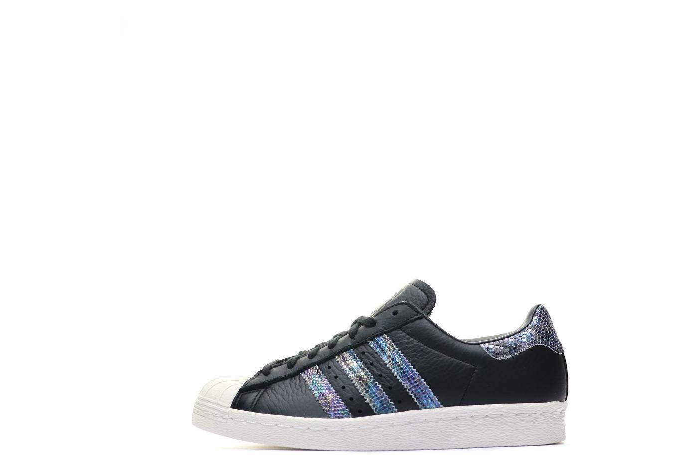 meilleur service fa7ad 5cc83 Superstar 80s Chaussures Noir Femme Adidas