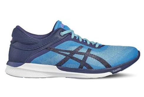 Meilleur choix asics fuzex chaussures de running homme bleu