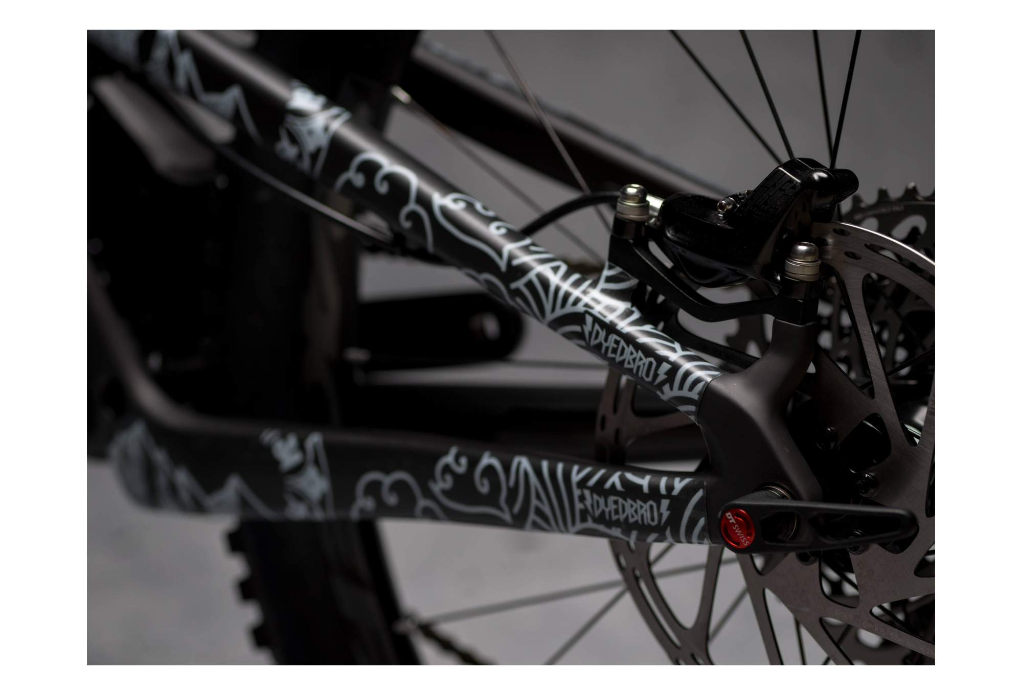 Mountain Bike Frame Protector Sticker Set Road Bike BMX