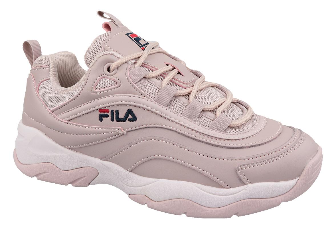 beaucoup à la mode brillance des couleurs style exquis Fila Ray Low WMN 1010562-71P Femme chaussures de sport Rose