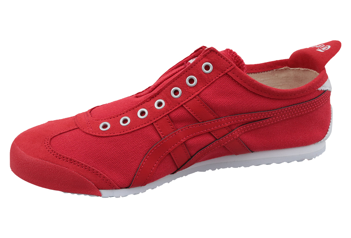 best service a4349 204d4 Onitsuka Tiger Mexico 66 Slip-On D3K0N-600 Homme sneakers Rouge