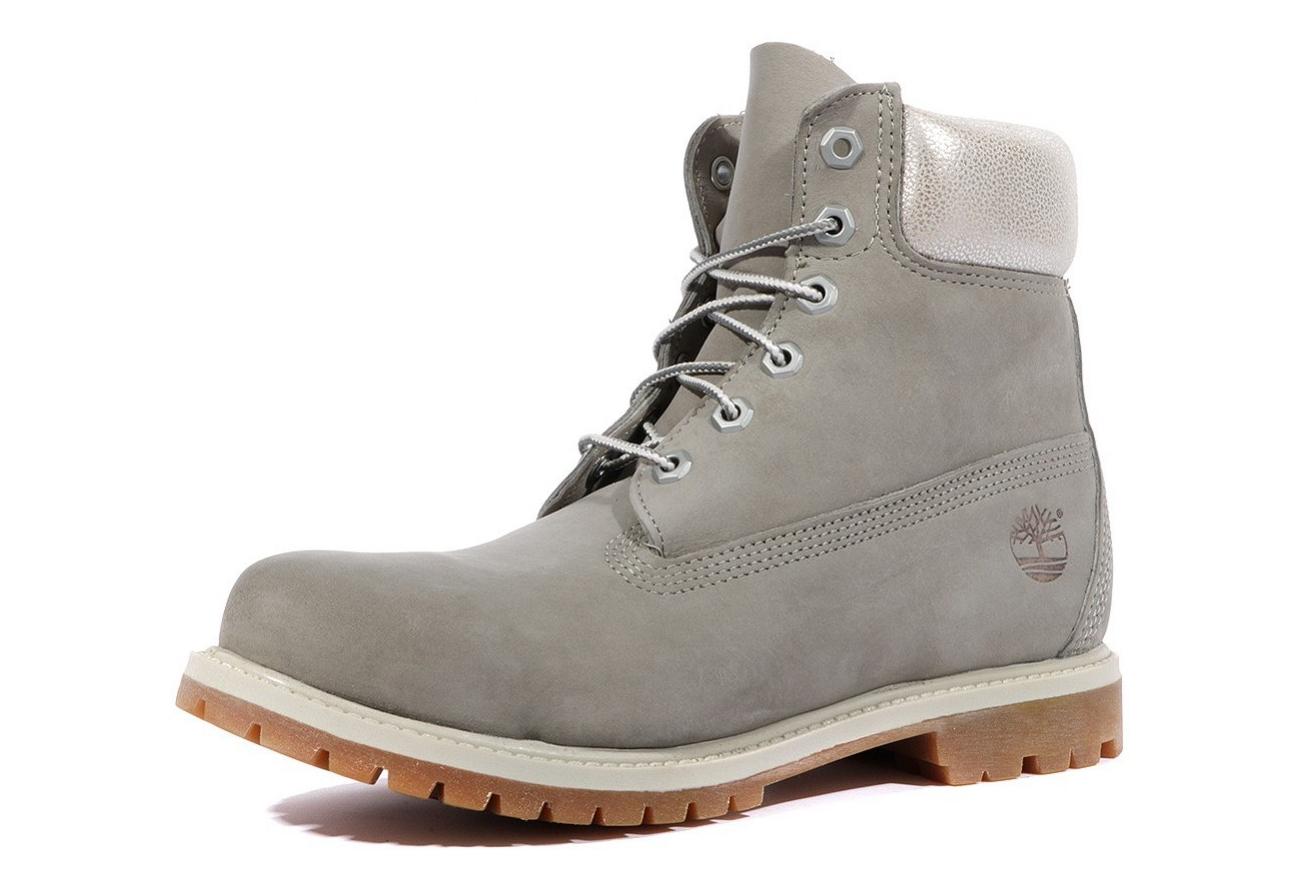 info pour en vente en ligne prix favorable 6 In Premium Femme Boots Gris Timberland