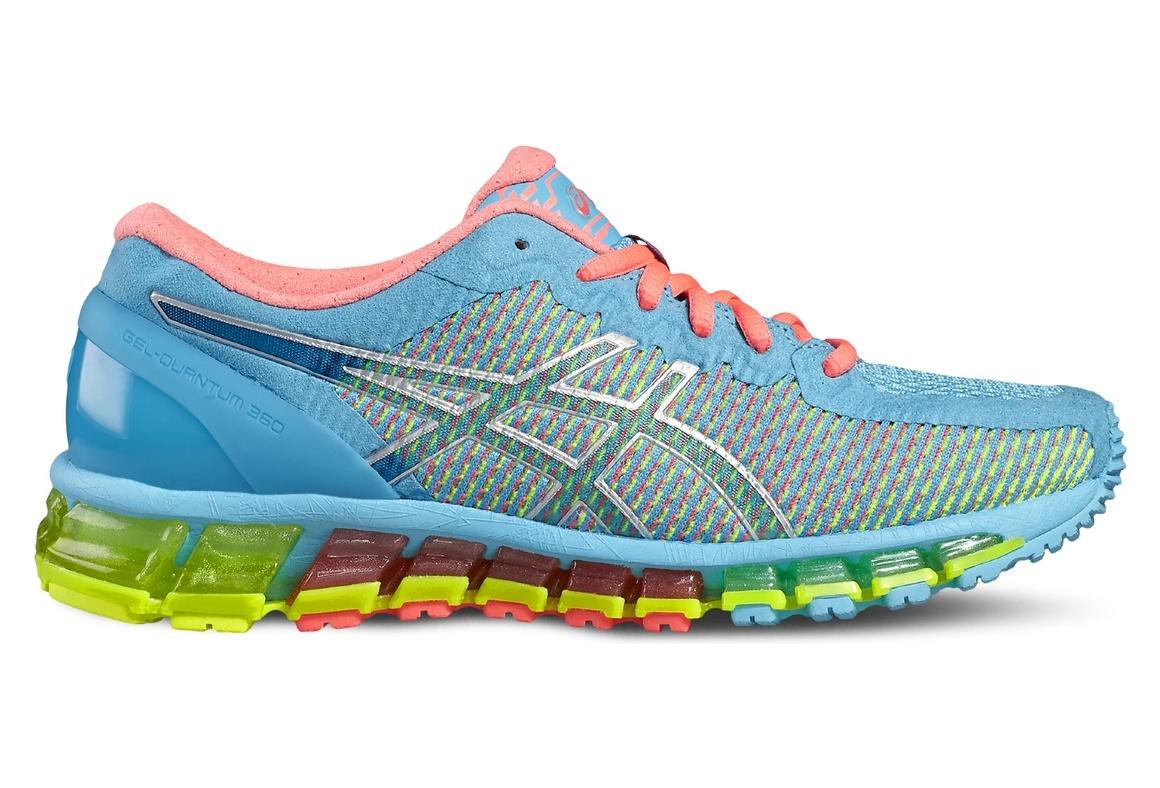 newest 6a996 733e6 Asics Gel-Quantum 360 CM T6G6N-3901 Femme chaussures de running Bleu
