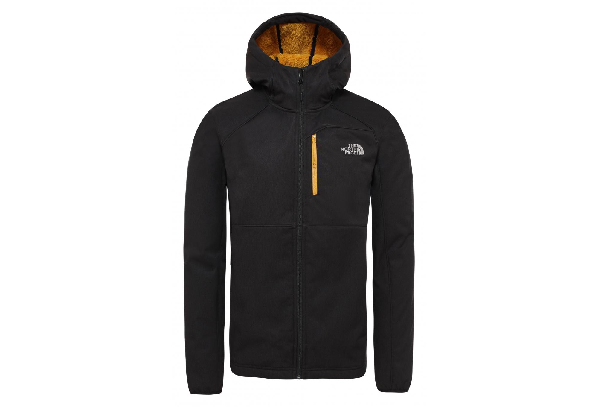 Najlepiej sprzedawca detaliczny zakupy The North Face Quest Hooded Softshell Jacket Black