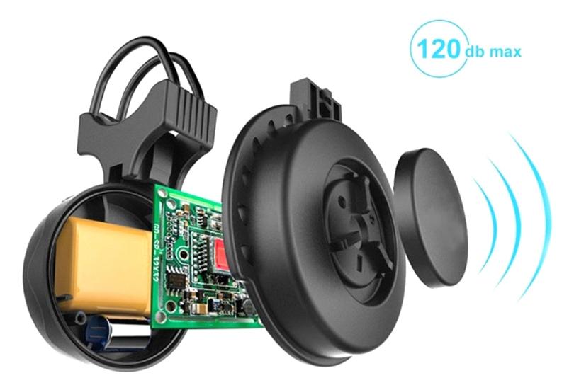 USB rechargeable klaxon vélo équitation monophonique vélo équipement vélo cloche