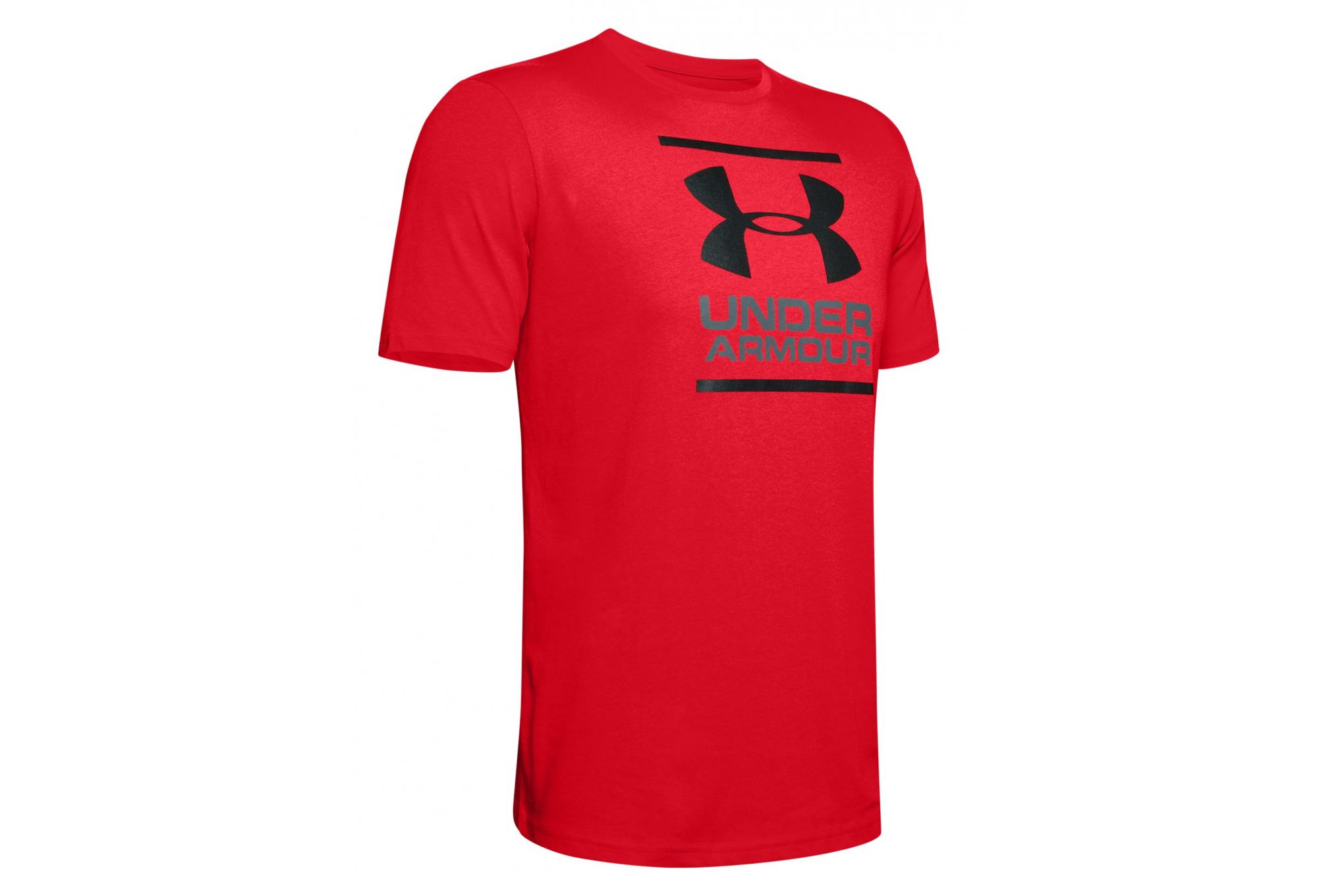 Under Armour HeatGear GL Foundation Short Sleeve Shirt T-Shirt red 1326849-601