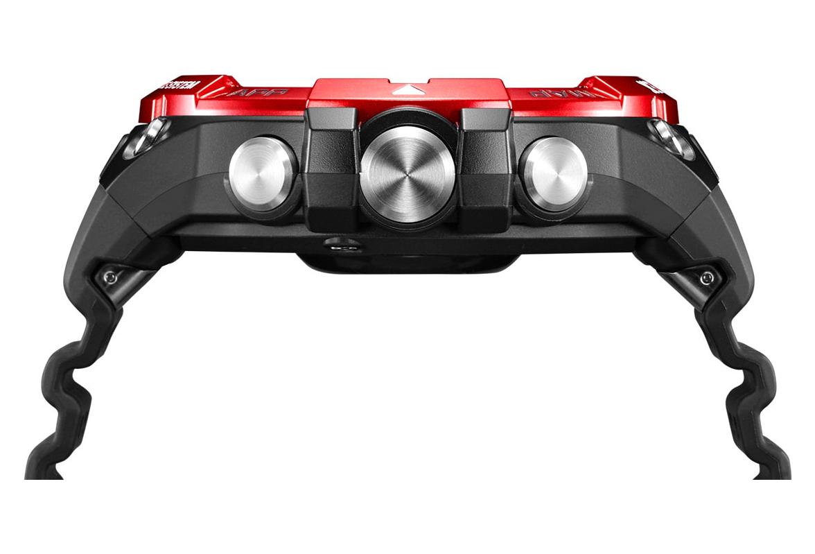 Reloj Casio Pro Trek Smart F21HR GPS Rojo