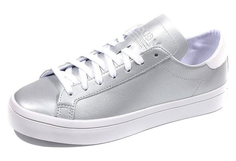 Chaussures Court Vantage Argent Femme Adidas