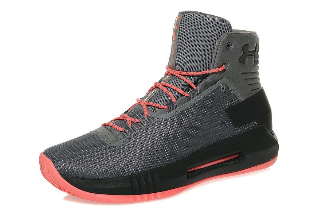 4 Homme Armour Under Gris Drive Basketball Chaussures oxedCB