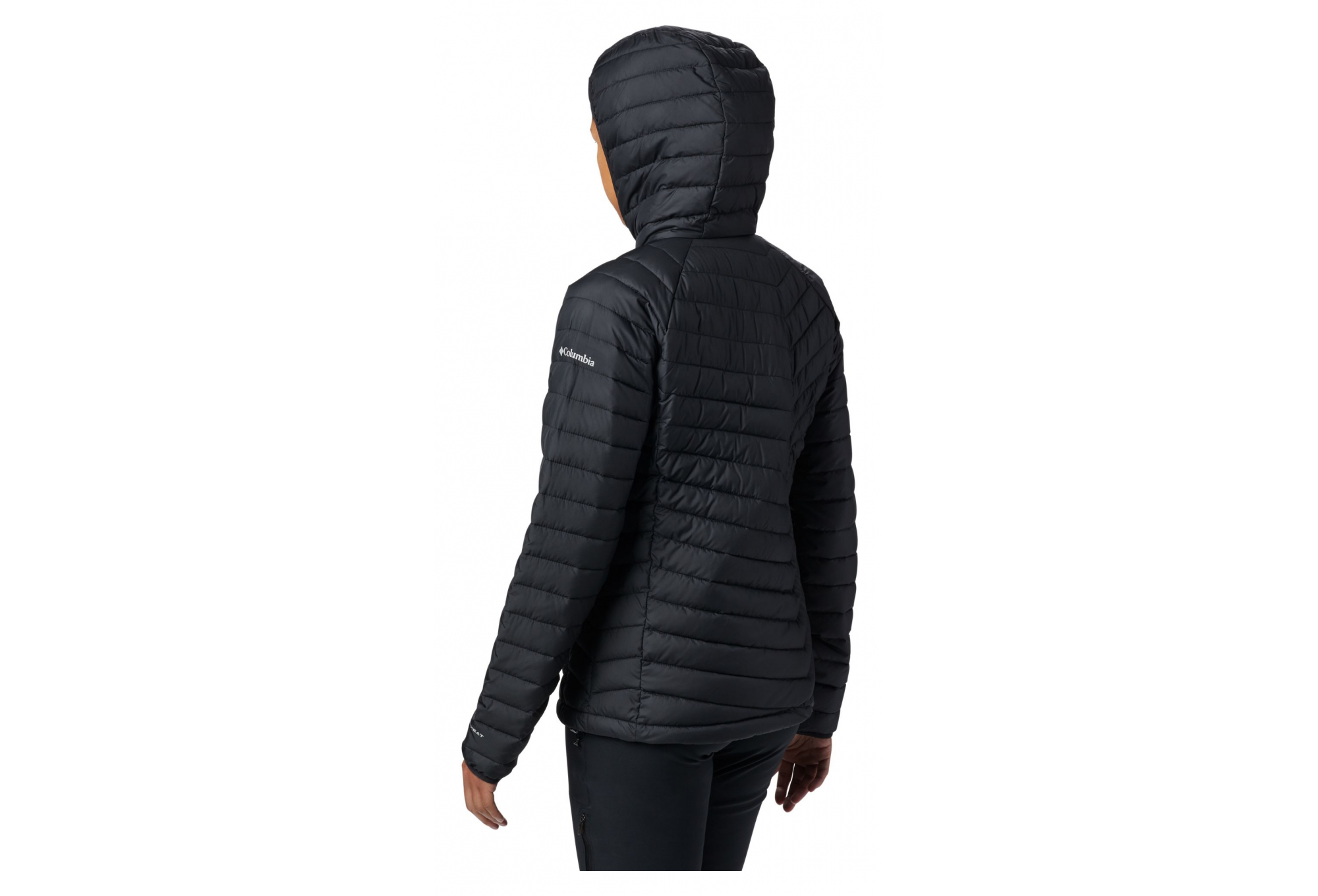 Columbia Powder Lite Hooded Jacket Women's Black