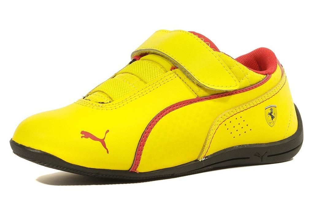 puma jaune chaussure
