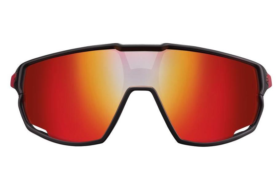 Pair of glasses Julbo Rush Reactiv Photochromic Black Red