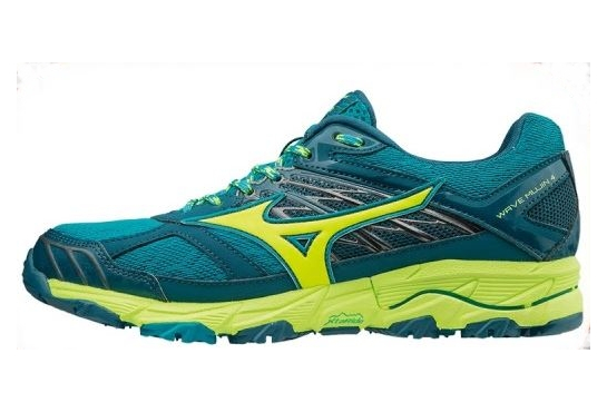 Chaussures De Course Running Mizuno Wave Mujin 4 Femme Vert