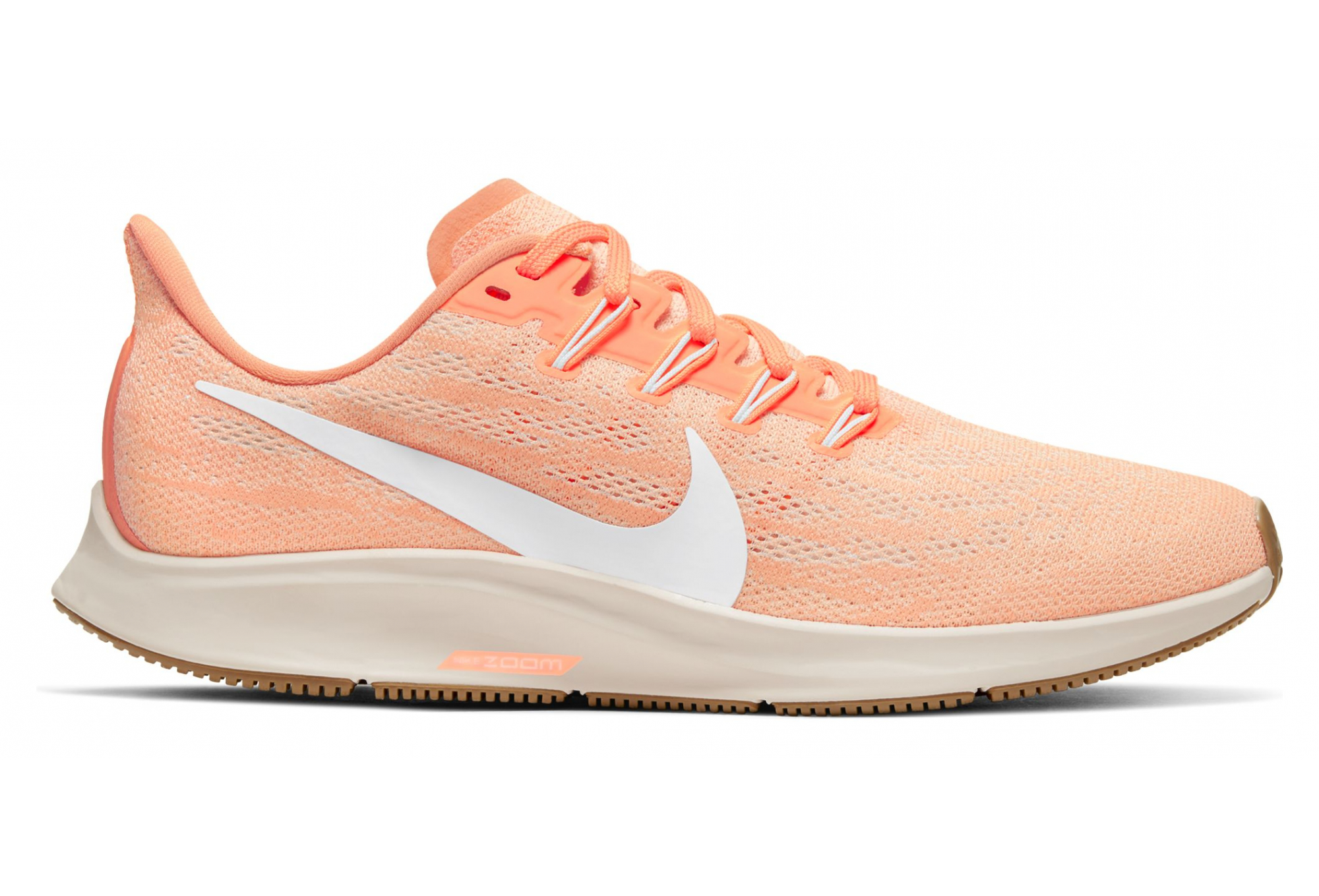 Feudo Isla de Alcatraz Empleado  Nike Air Zoom Pegasus 36 Orange White Women | Alltricks.com