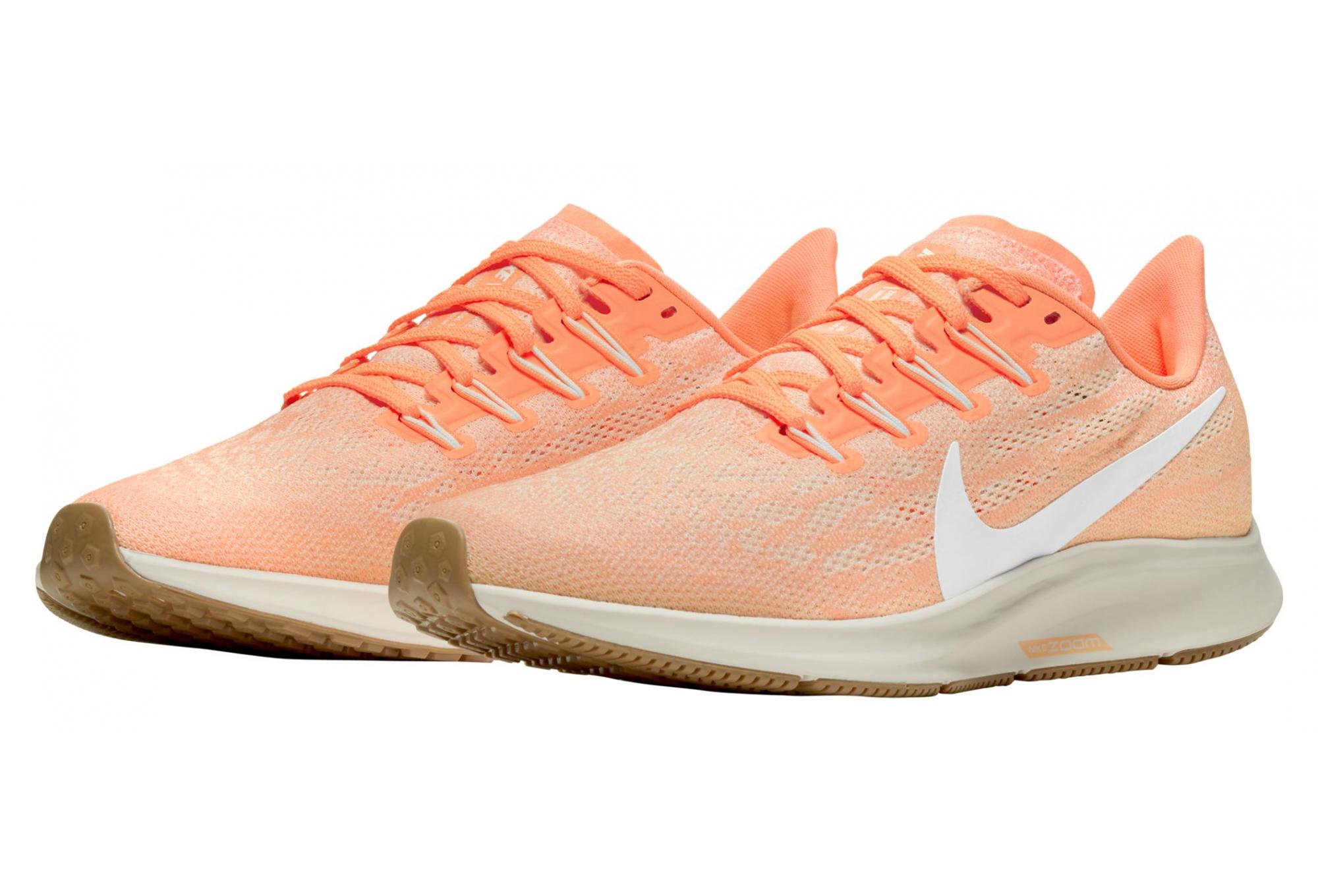 Nike Air Zoom Pegasus 36 Orange White Women