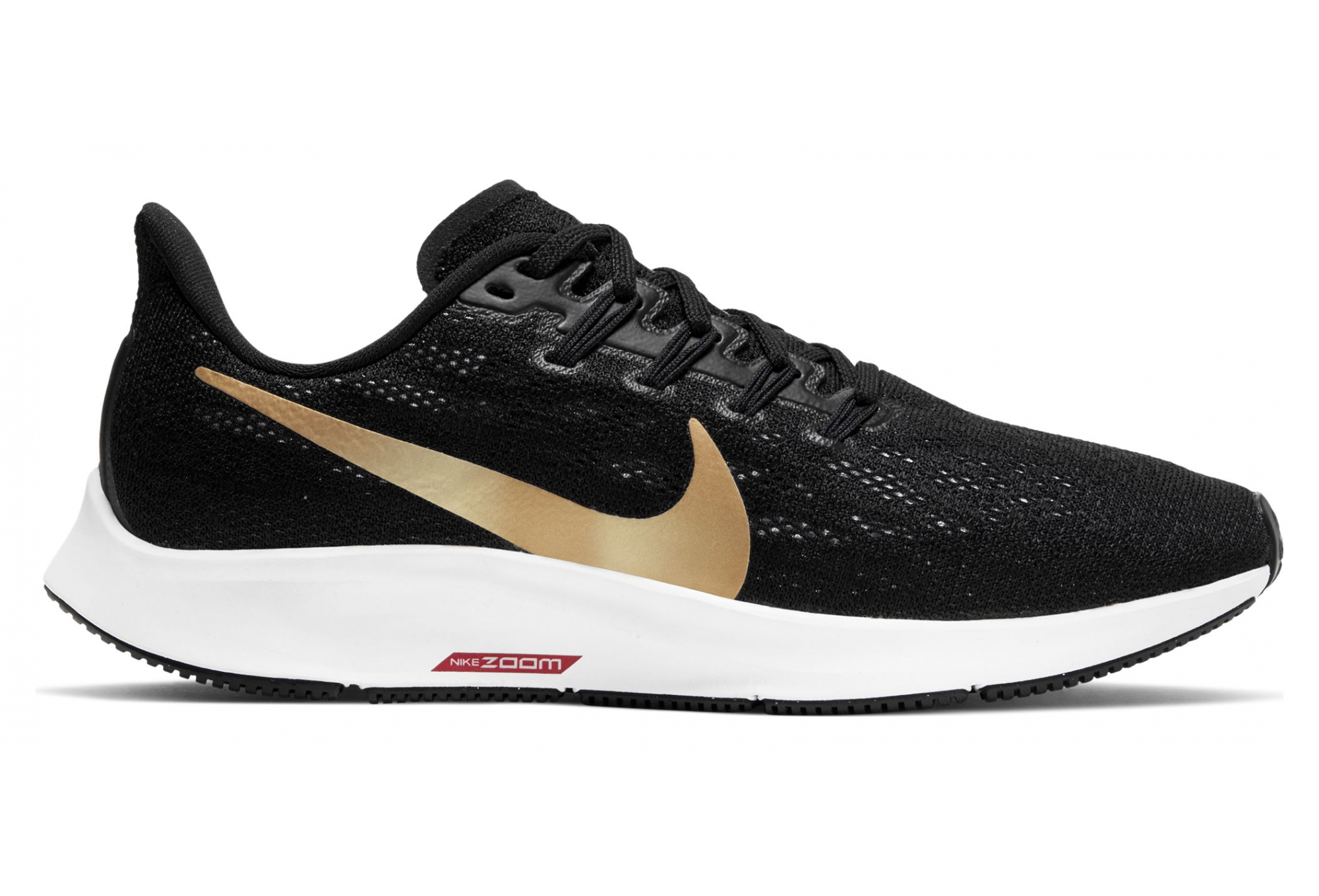 where to buy best supplier outlet online Nike Running shoes Women Air Zoom Pegasus 36 Black Or | Alltricks.com