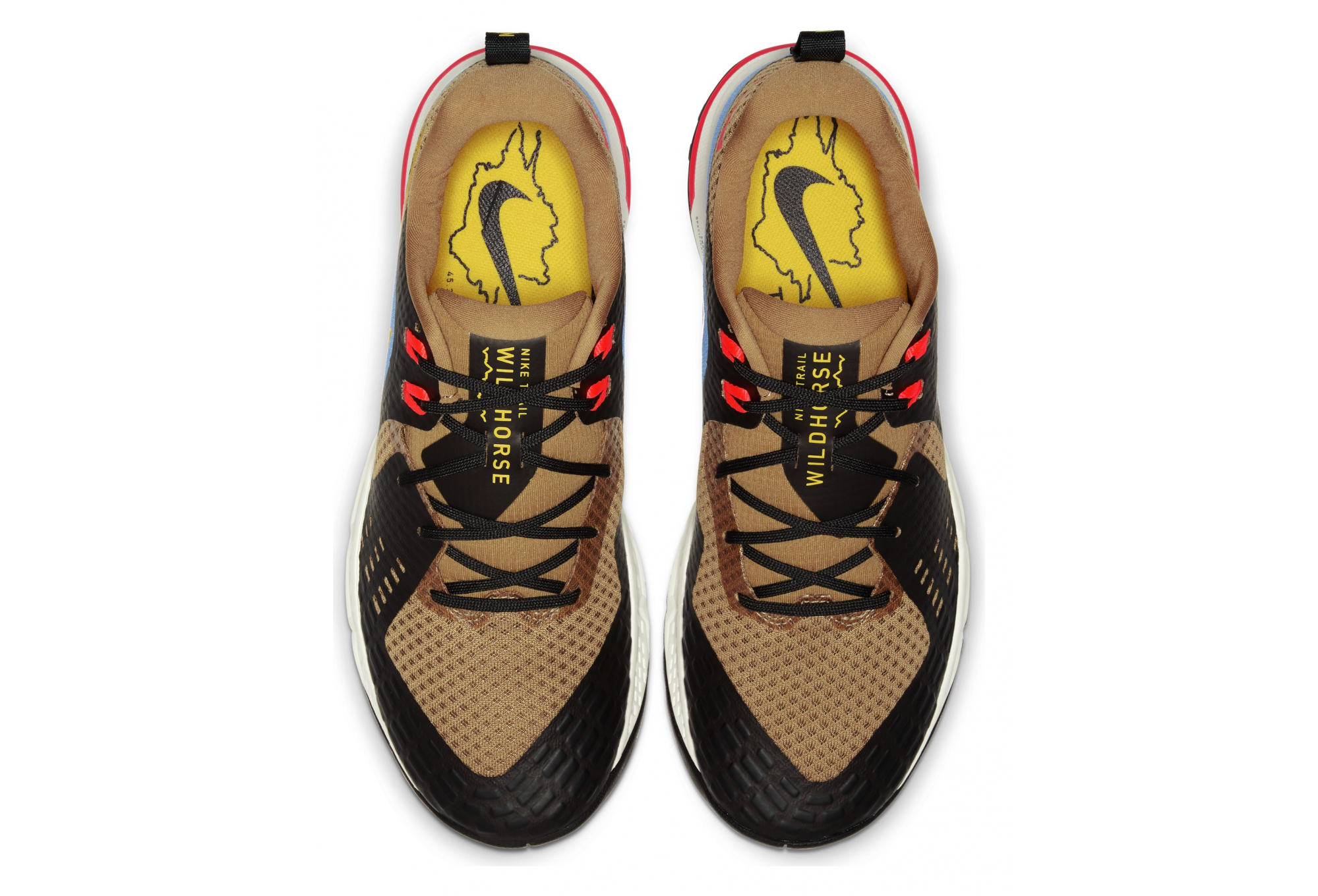 zapatillas nike hombre marron