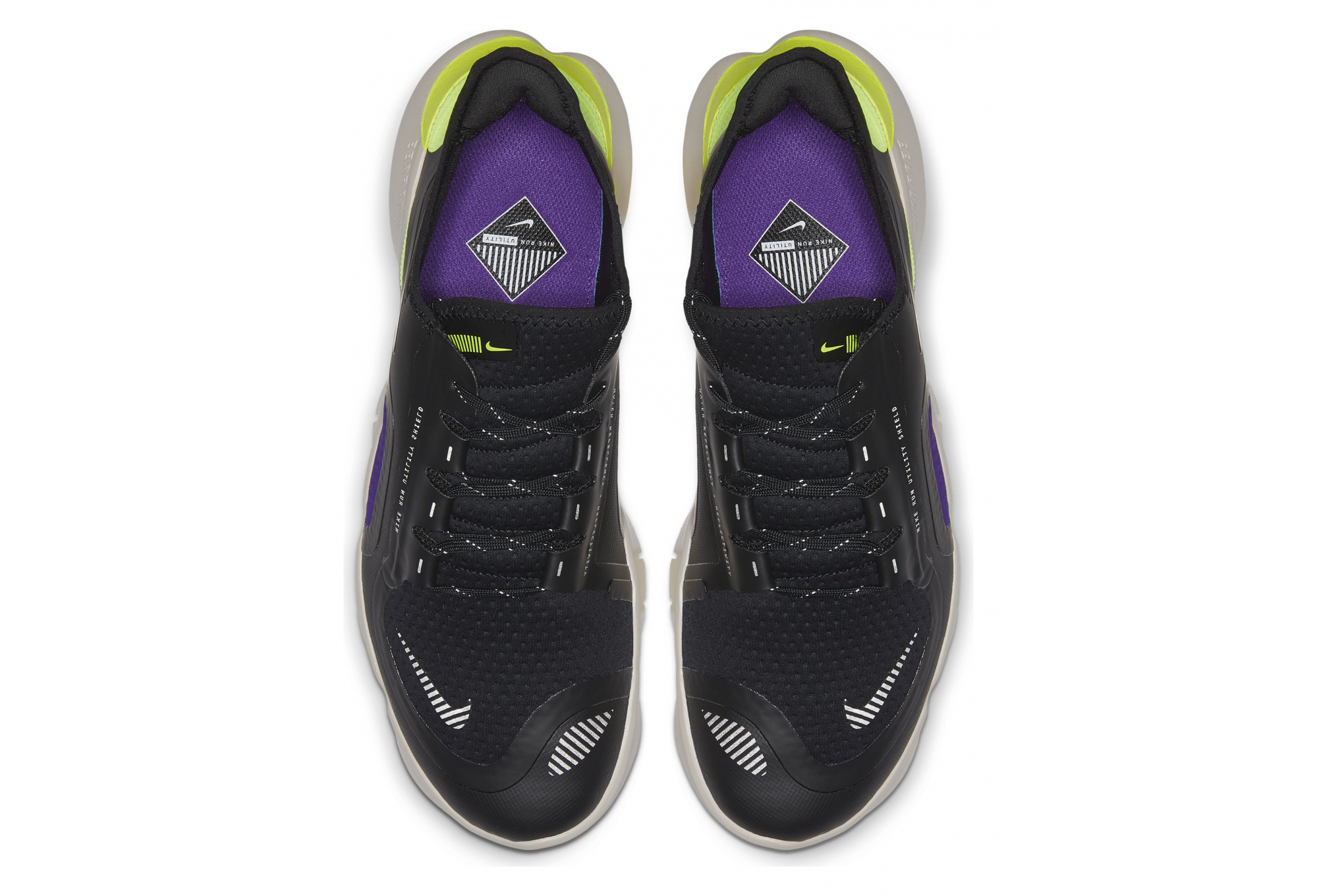 Contento Votación desconcertado  Nike Running shoes Free RN 5.0 Shield Black Yellow Purple | Alltricks.com