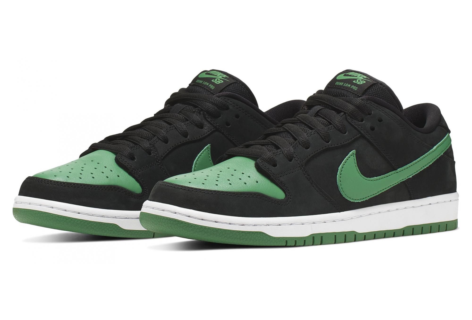Paire de Chaussures Nike SB Dunk Low Pro Noir Vert