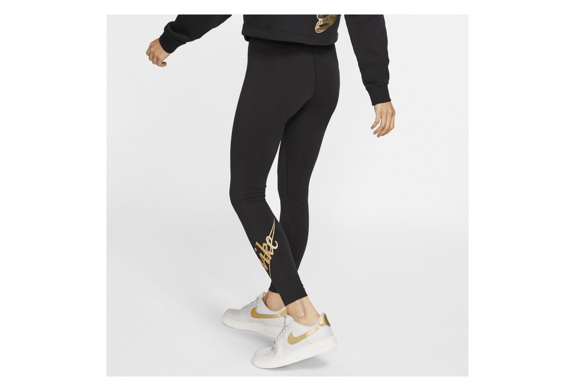 Perú Usando una computadora Oso polar  Legging Femme Nike Sportswear Noir | Alltricks.fr