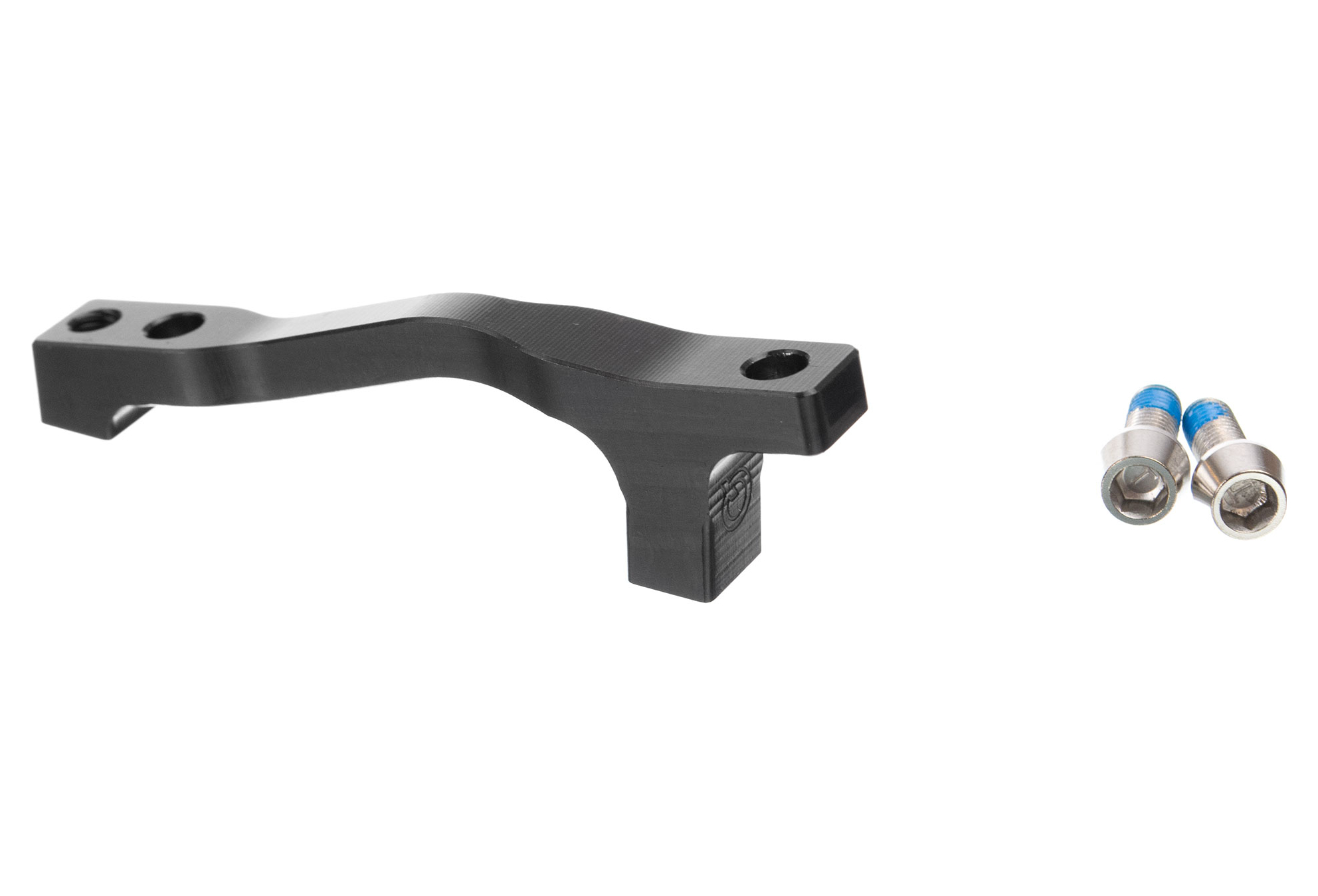 Hope Brake Adapter Mount J Black Brand New IS Front to Post 183mm