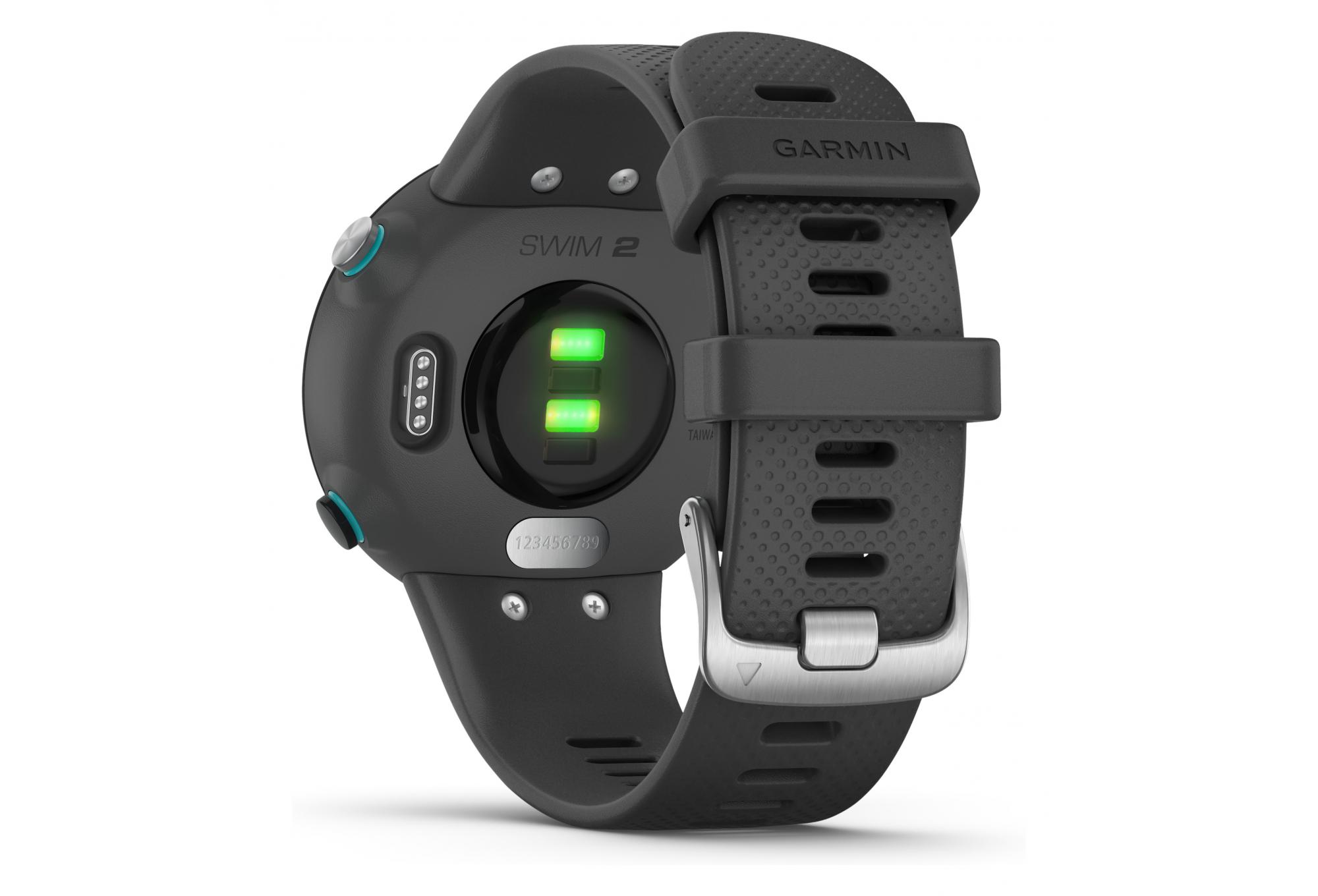 One Size Garmin 2 GPS Swimming smartwatch Slate Grey
