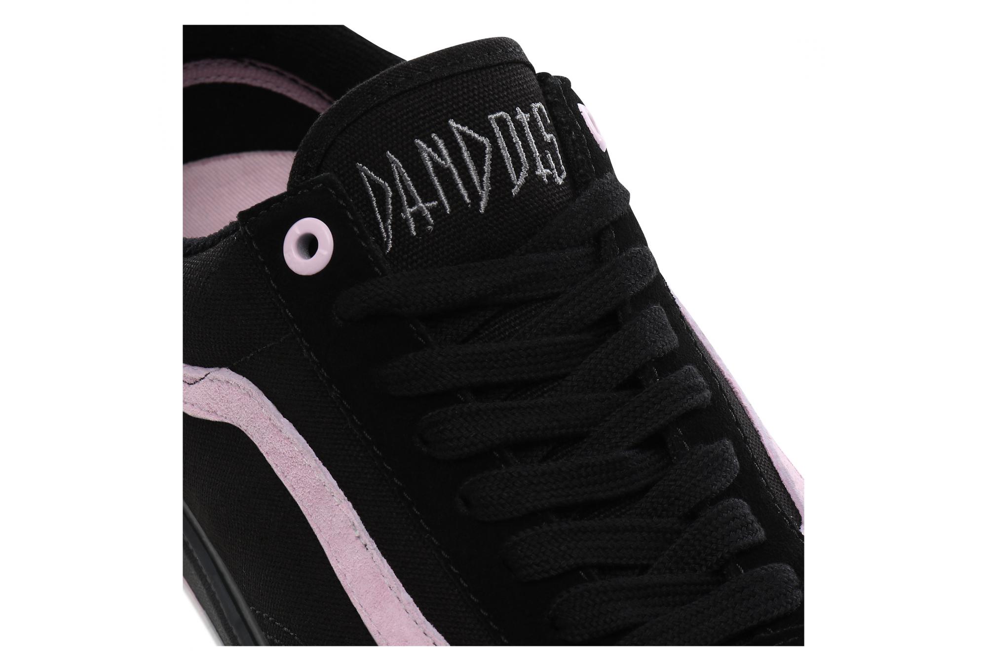 Vans Old Skool Pro BMX Shoes Matthias Dandois Black Pink