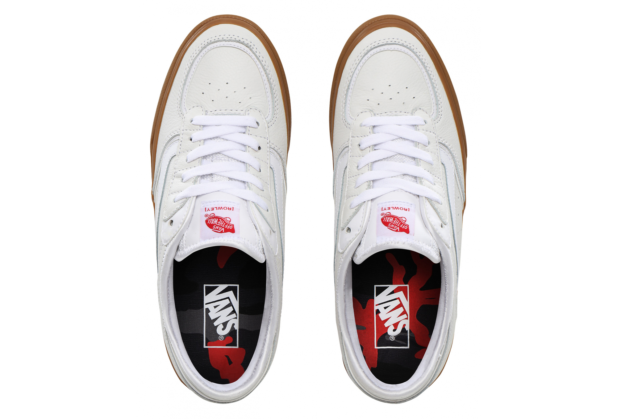 Vans Rowley Classic White Gum Shoes