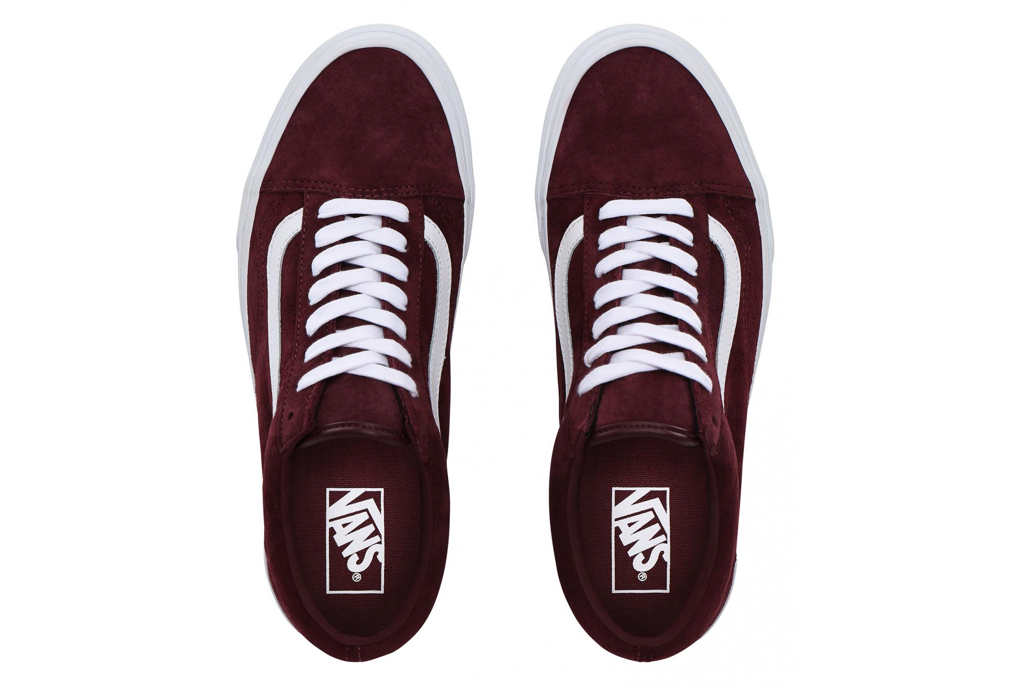 Vans Shoes UA Old Skool Pig Suede Bordeaux