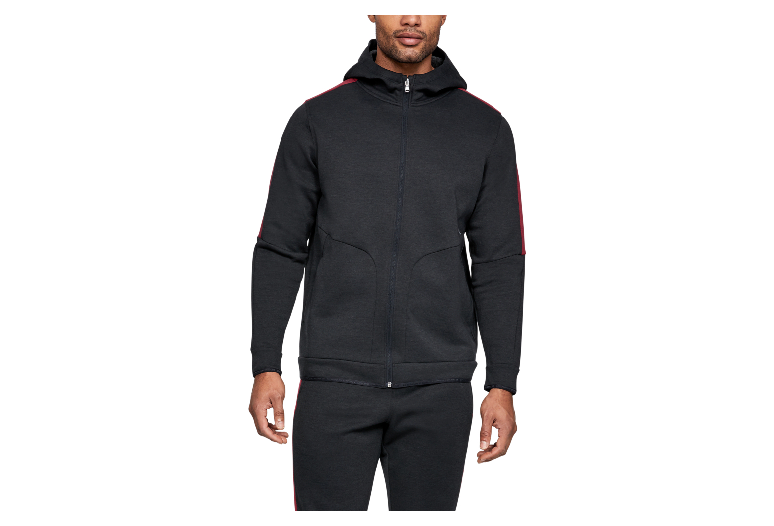 ASICS Men' Dual Zip Sweat Hoodie: : Sports et Loisirs