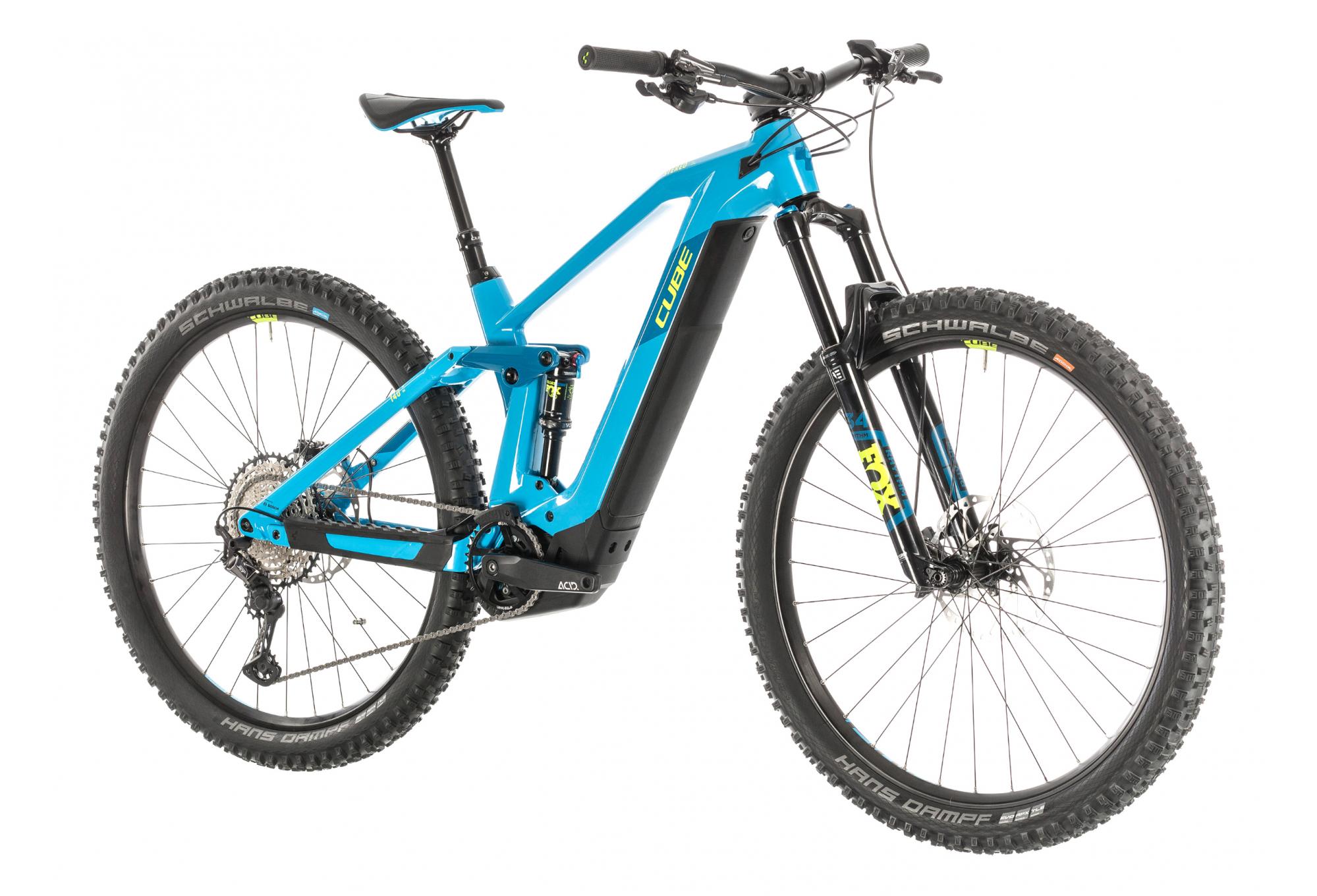Cube Bikes MTB//Vélo de Montagne Guidon Poignées Performance Series Noir-Bleu