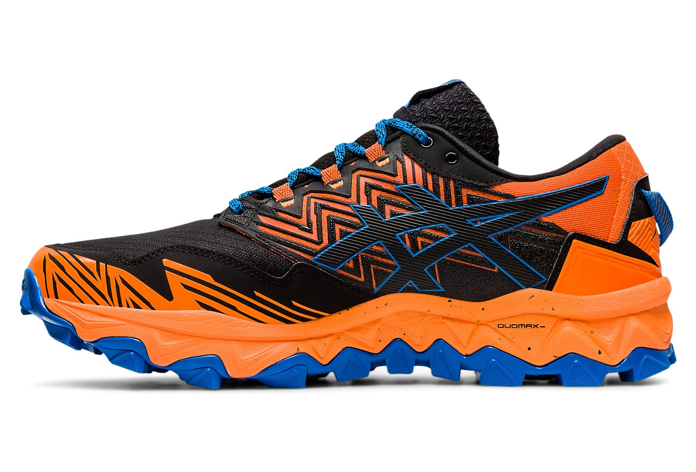 Superposición Betsy Trotwood Orientar  Asics Gel FujiTrabuco 8 GTX Men Orange Black Blue | Alltricks.com
